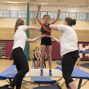 Trampoline clubs with trampoline courses for all. Trampolining clubs near me Leisure classes.
