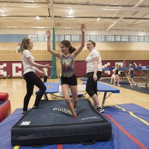 trampoline classes Leisure trampolining lessons