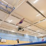 Athlete trampoline courses for tramoline gymnasts at Kingston Trampoline Academy