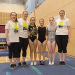 Coaches and members at Kingston Trampoline Academy