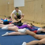 Athlete trampoline courses at Kingston Trampoline Academy