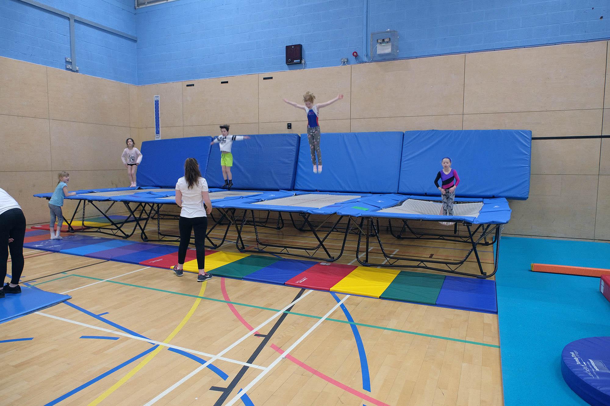 kingston trampoline academy