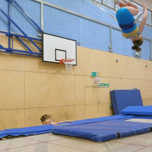 Leisure members benefit from our expert coaching at Kingston Trampoline Academy