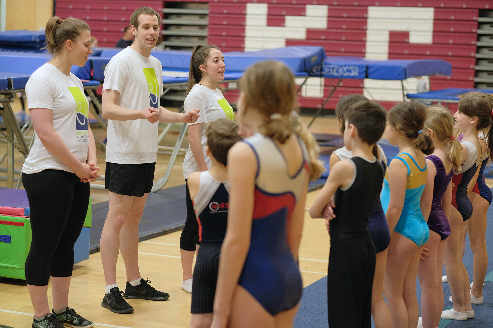 Always learning and having fun at Kingston Trampoline Academy.
