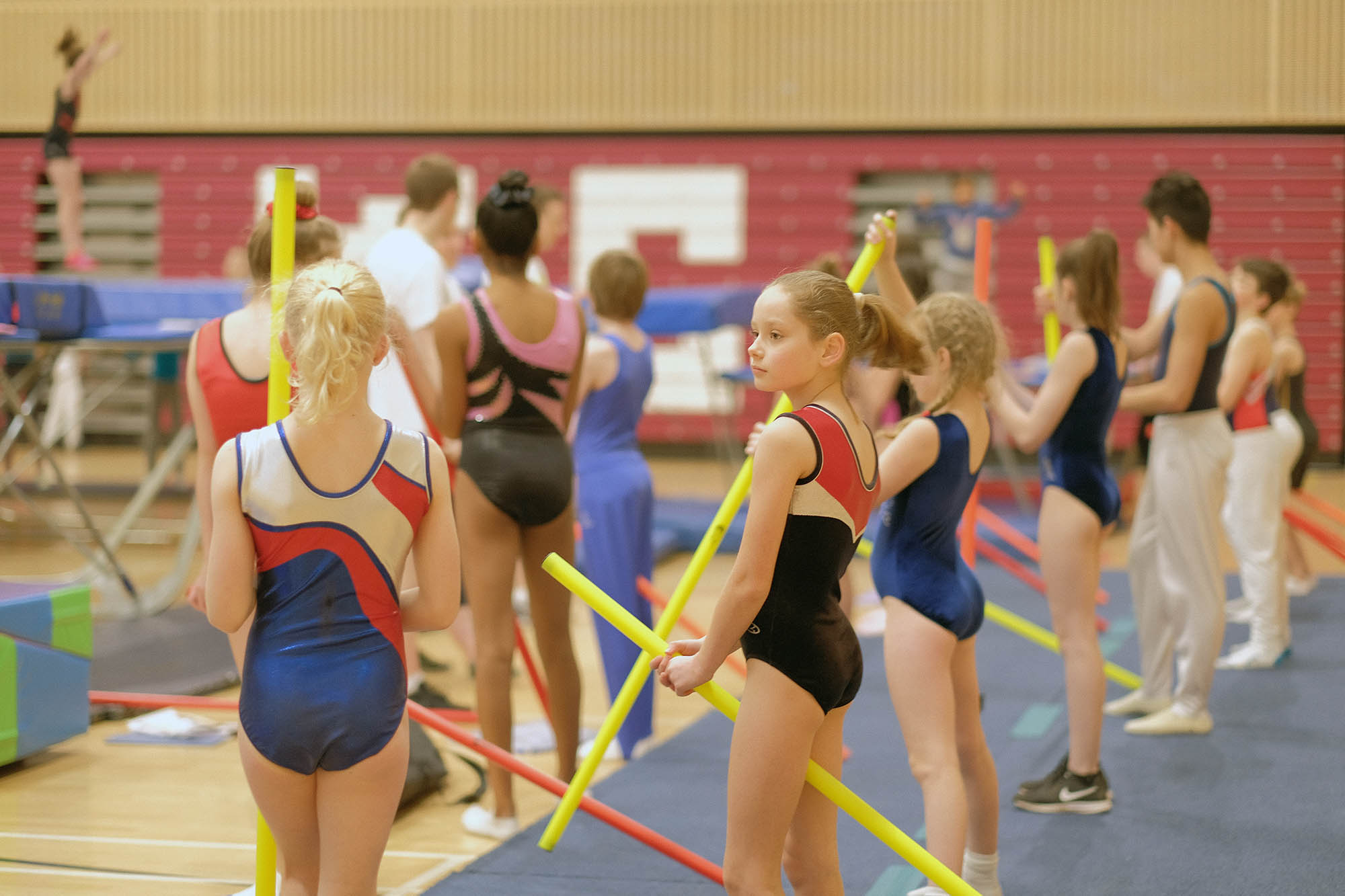 Always learning at Kingston Trampoline Academy