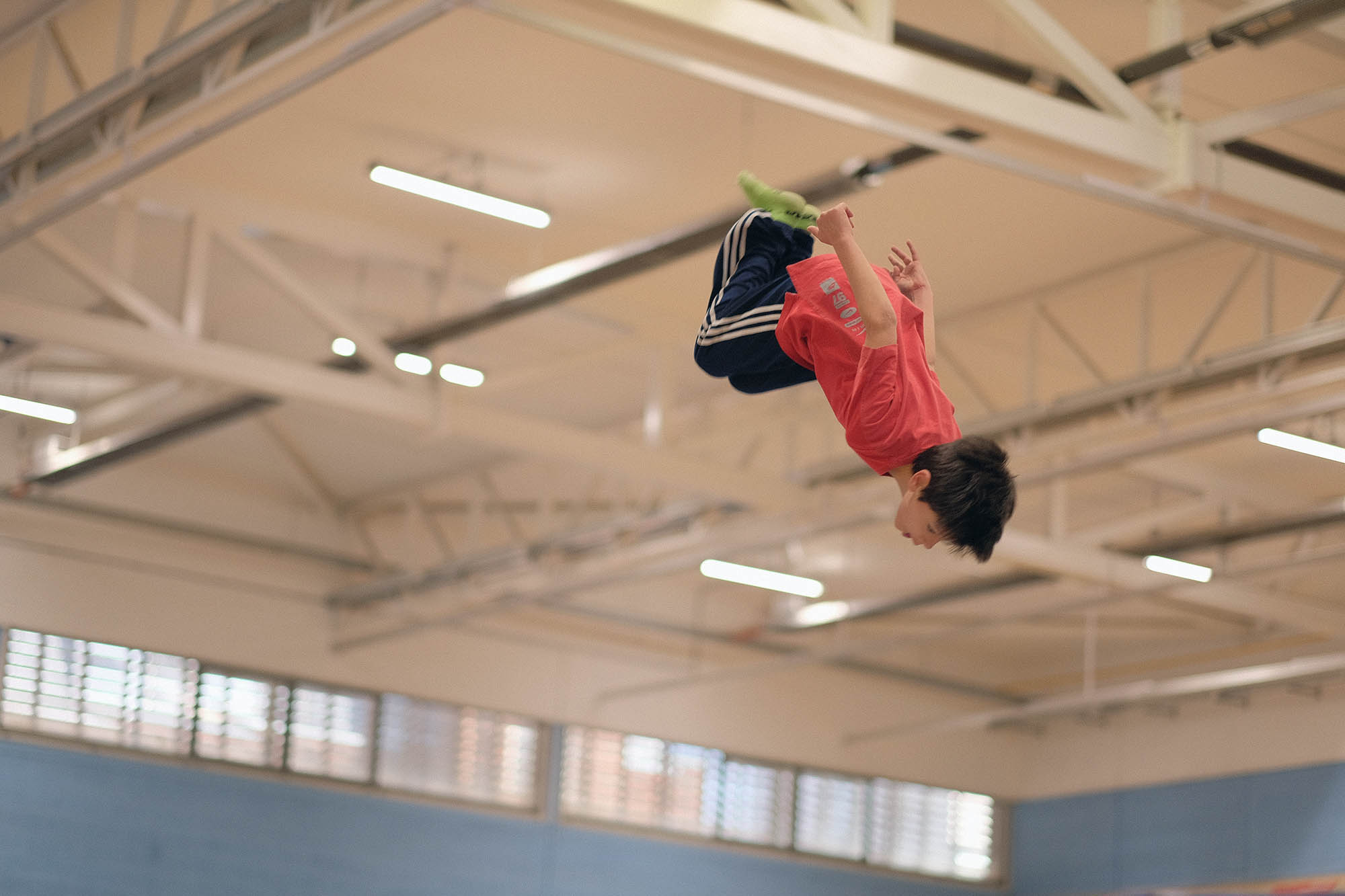 Jump For Fun trampoline classes at Kingston Trampoline Academy. One of the leading trampoline clubs in the UK.