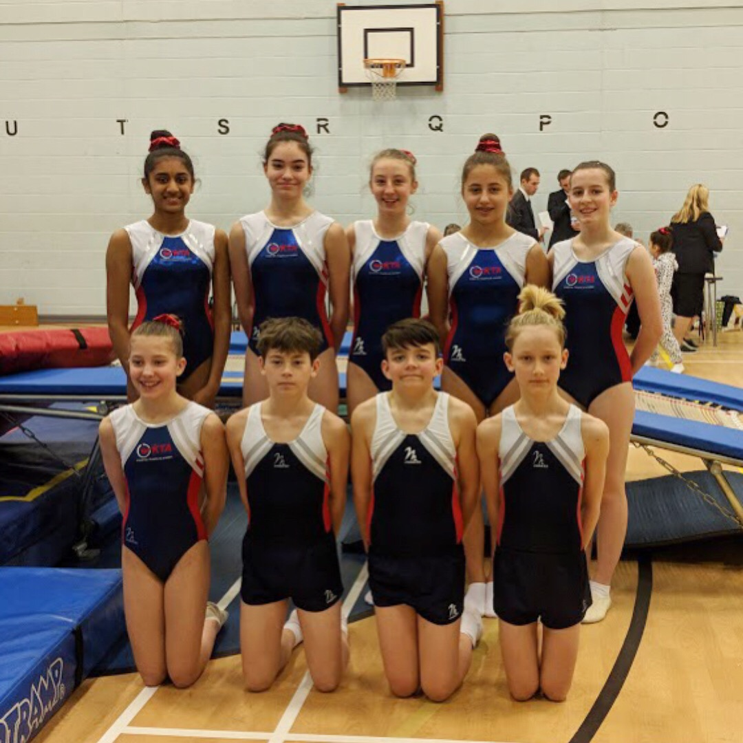 Trampolining competition March 18