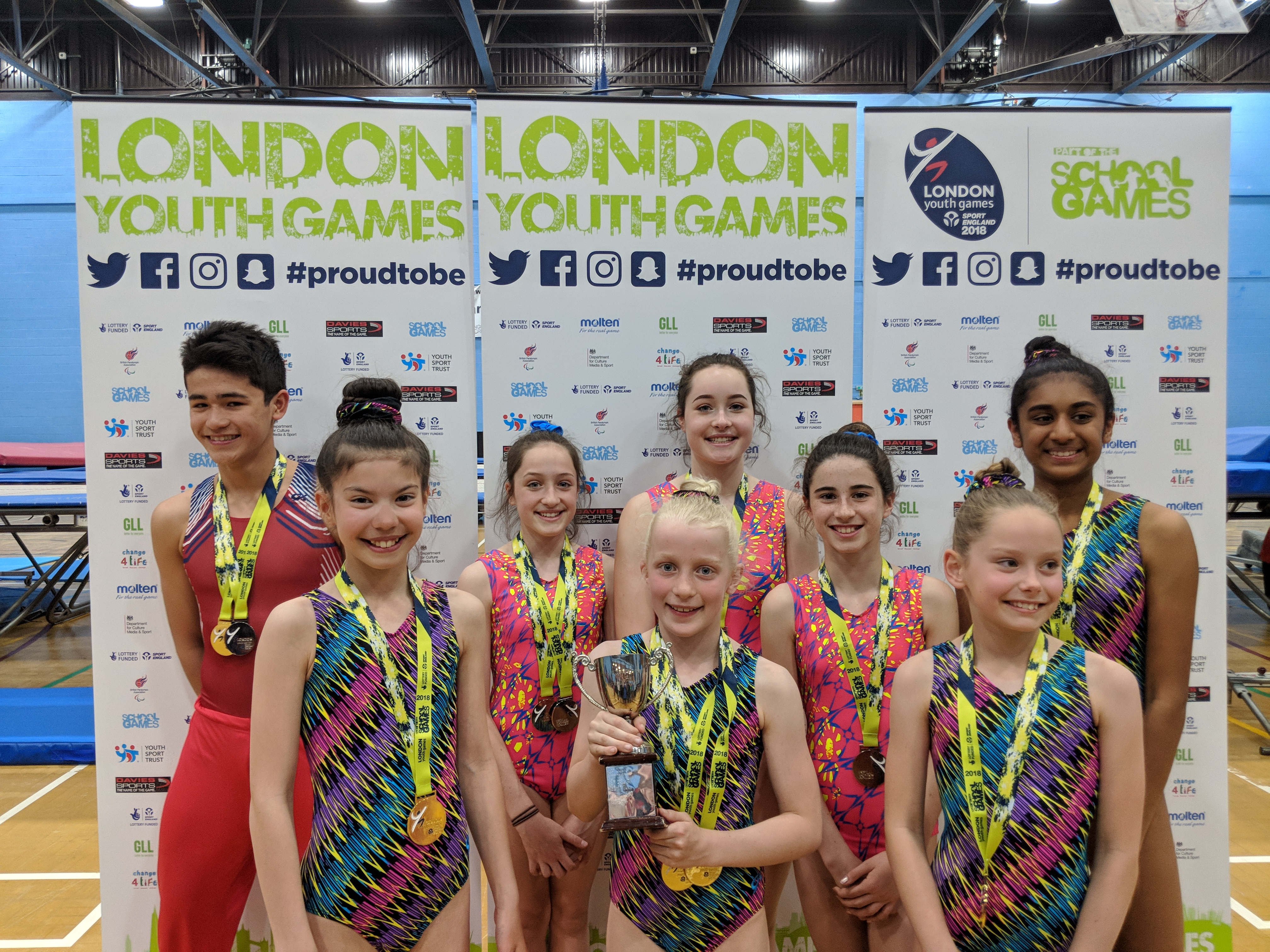 trampoline London youth games