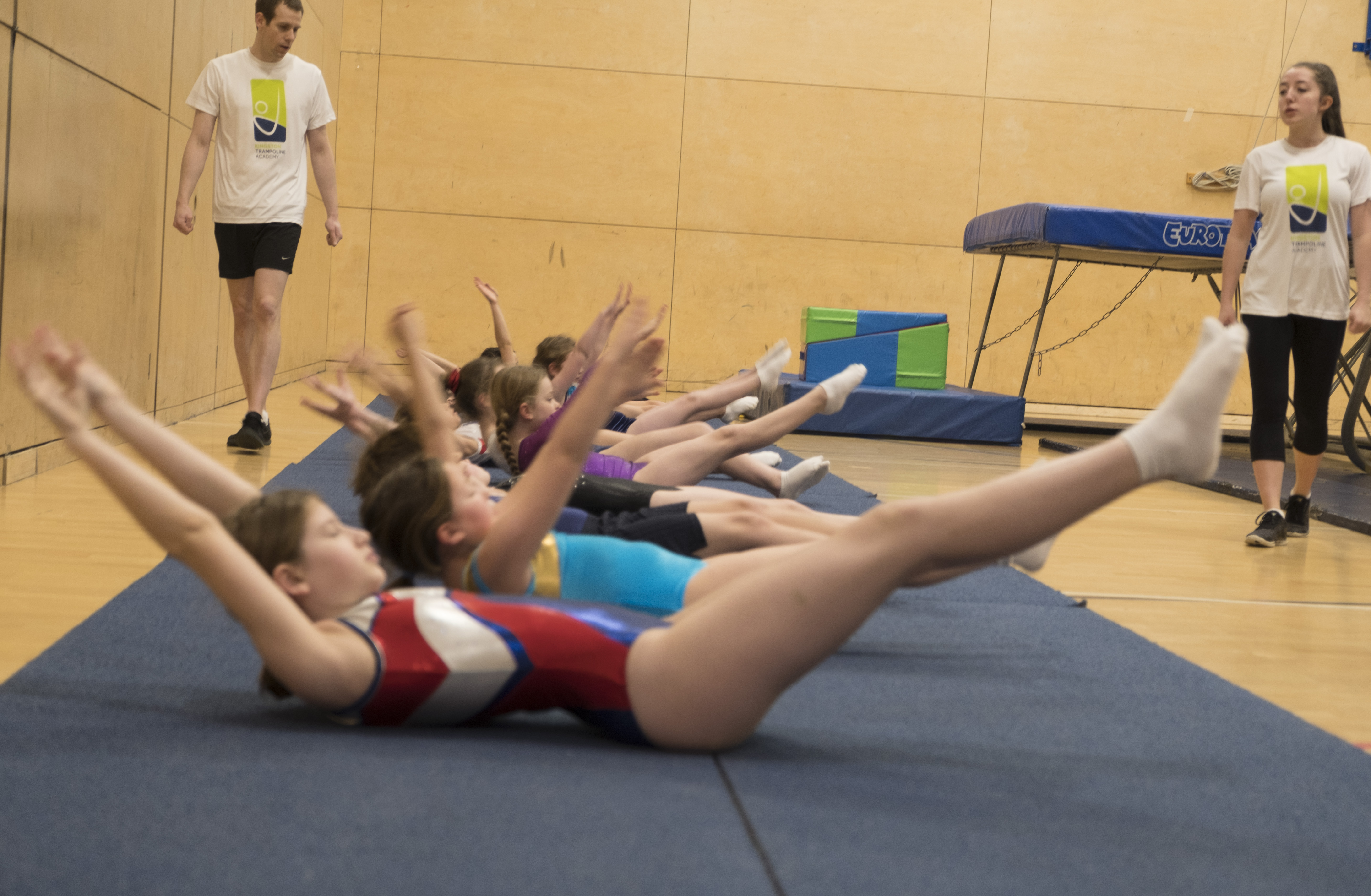 Kingston Trampoline to complete at the NDP National Finals