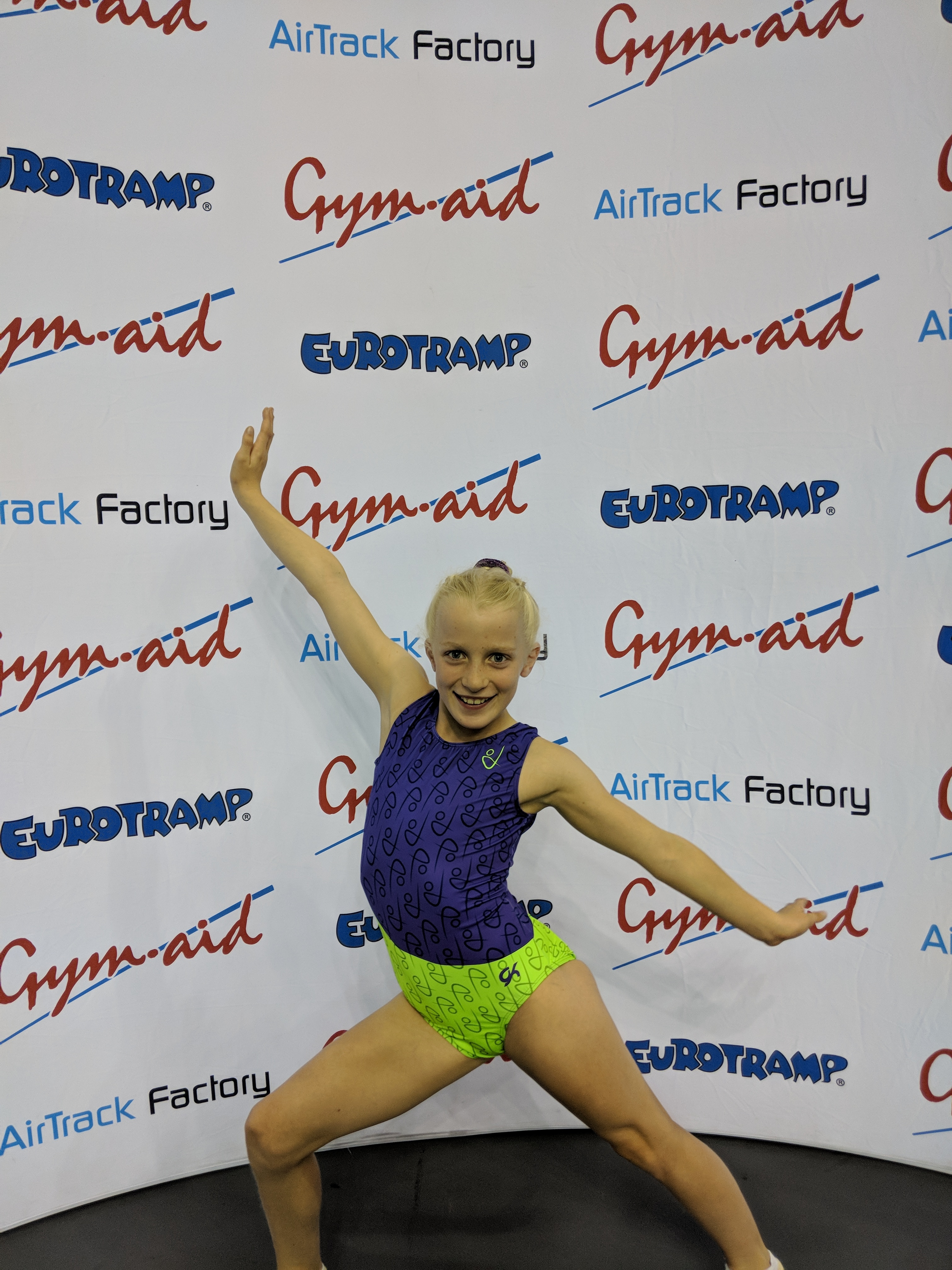 Trampoline club success at the British Championships. Holly was 4th