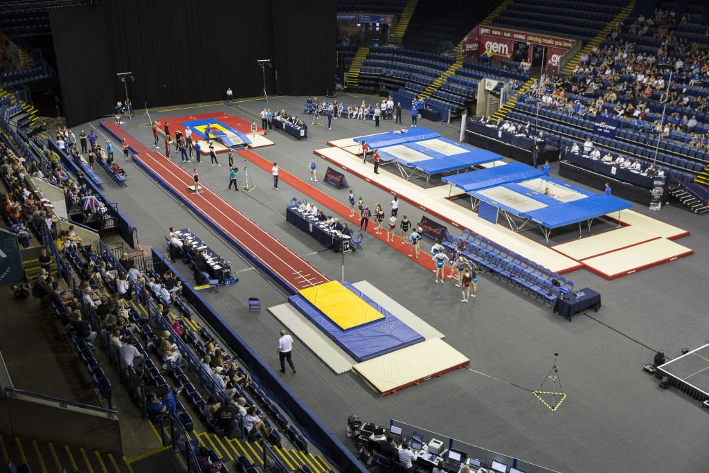 Trampoline Arena 3 - Winter Event 1 - Competition Information & Results